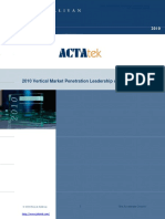 ACTAtek and Jakin ID Vertical Market Penetration Leadership