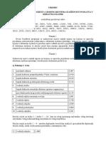 Uredba o Nazivima Radnih Mjesta i Koeficijentima Složenosti Poslova u Državnoj Službi Proč Tekst