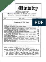 Ministry 1928, April