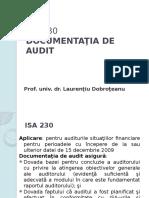 DA230 documentatia