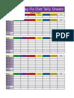 21 day fix food pdf