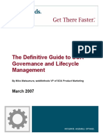 The Definitive Guide to SOA Governance and Lifecycle Management. by Miko Matsumura, Webmethods VP of SOA Product Marketing