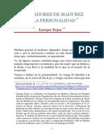 Indicadores de Madurez de La Personalidad