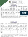 Cronograma de Provas 2016