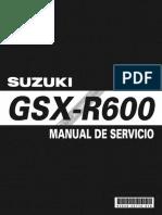Manual Mantenimiento GSXR-600