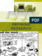 Defining Research 97-03