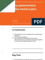 Lezione 28 - Una Panoramica Sulla Musica Jazz
