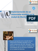 Presentacion Restaurante Tematico PDF