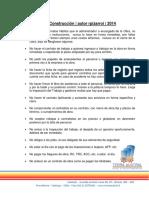 Información de Importancia - SUPERVISÍON de OBRA
