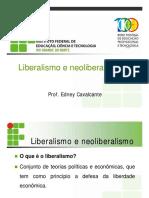 Liberalismo e Neoliberalismo