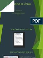 HERRAMIENTAS DEL SISTEMA DE WINDOWS