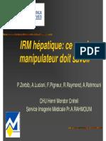 Examen Hepatite -manipulateur