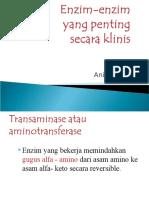 Enzim-Enzim Yang Penting Secara Klinis. D3 Ppt