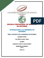 Investigacion Formativa i-INTRODUCCION A INGENERIA DE SISTEMAS