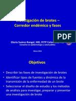 1. IBrotes - Corredor Endemico y Fases