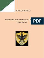 Michela Nacci - Recensioni e interventi