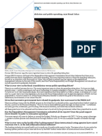 No conflict between fiscal consolidation and public spending, says Bimal Jalan _ Business Line.pdf