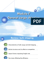 (Updated Page 29 and Deleted the Previous Page 30) Maritime Economics-module 7 General Cargo Shipping
