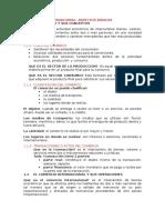 Comercio Internacional, Resumen Libro