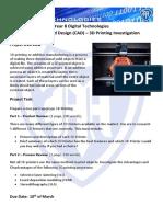 3d printing investigation