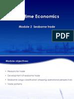 Maritime Economics - Module 2 - Seaborne Trade