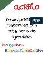 Fichas Ejercicios de Fracciones