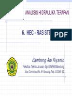 06 HEC-RAS Steady Flow