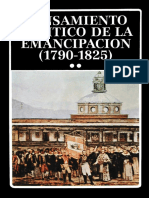 AA.VV. Pensamiento Político de La Emancipación II