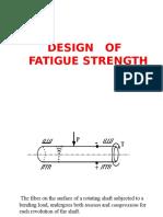 Design of Fatigue Strength