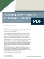 Managing Energy Using Key Performance Indicators - Whitepaper