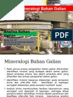 03. Kajian Mineralogi Bahan Galian