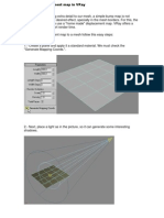 Using a Displacement Map in VRay