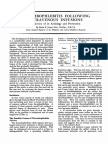 Thrombphlebitis Aetology and Prev