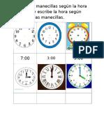 Relojes Para Marcar La Hora