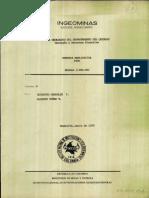 Memoria Explicativa. Mapa Geologico Del Departamento de Quindio. 1990