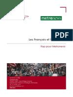 Sondage Ifop metronews - la cote de sympathie des Bleus