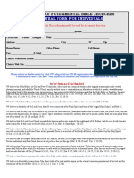credential form for individual  pdf