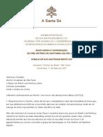 Hf Ben-xvi Hom 20070511 Canonization-brazil