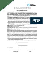 Documentos de Adhesion Plan0001 FIDEICOMISO