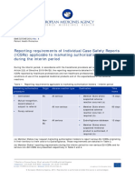 ICSR EMA Reporting Requirements