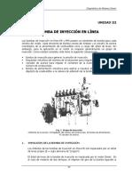 BOMBA DE INYECCIÓN EN LÍNEA