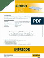 Coberturas traslucidas-PRECOR