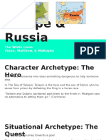 european and russian archetypes presentations