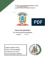 Informe N° 6 - Reconocimiento de carbohidratos - Bio