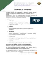 Monografia de Sistema Nacional de Contabilidad