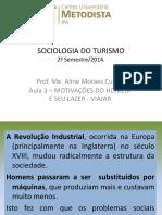 Aula 3 Sociologia Motivações Viajar 20142