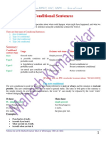 Conditional Sentences in PDF Format