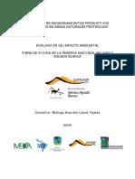 Estudio de Impacto Ambiental Fibra de Vicuña en La Reserva Nacional Salinas y Aguada Blanca