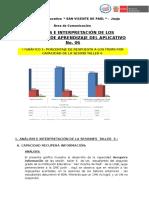 Modelo de Analisis y Reflexion Del Aplicativo 6