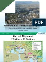 HART proposes rail options